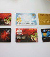 Cetak Member Card Emboss