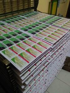 Cetak Id Card proses penjemuran